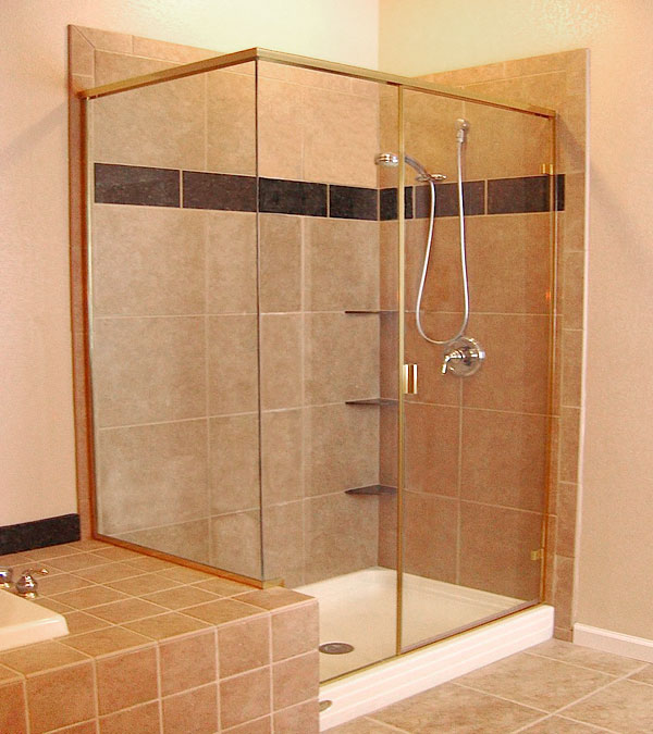 Relatively 1/4″ SEMI-FRAMELESS SHOWER DOORS | Martin Shower Door UC87