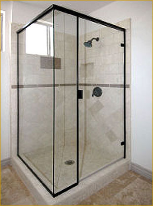 SHOWER DOOR AND PANEL ENCLOSURES